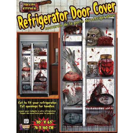 Refrigerator Door Cover Halloween - Halloween Classroom Door
