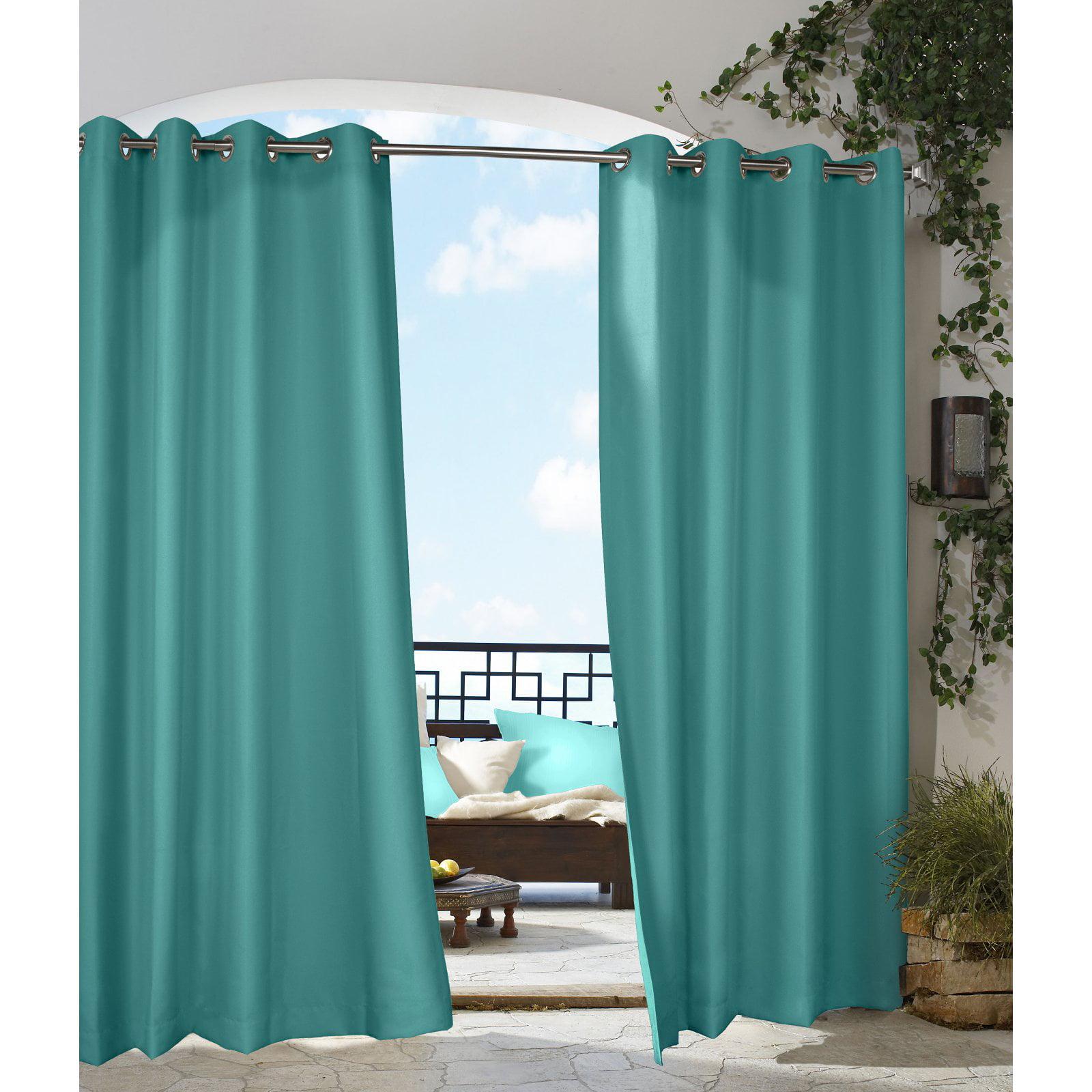 Commonwealth Outdoor Decor Gazebo Grommet Curtain Panel