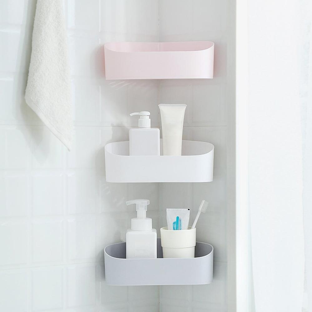 Shower Caddy Storage Shelf Bathroom Wall Corner Rack Basket Organizer Holder