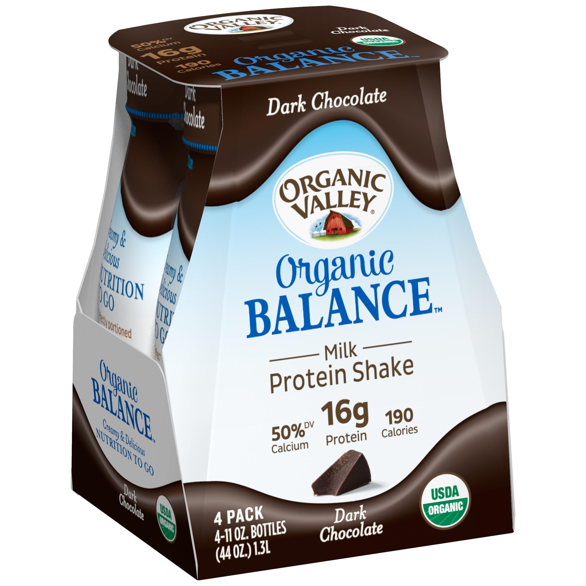 Organic Valley Organic Balance Milk Protein Shake, Dark C...