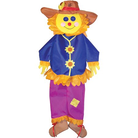 In the Breeze Autumn Scarecrow Wind Friend 3D Windsock