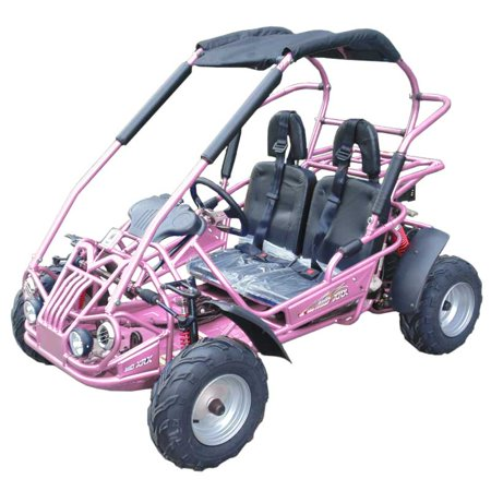 Pink TrailMaster Mid XRX/R, 4-Stroke, Single Cylinder, Air Cooled GoKart