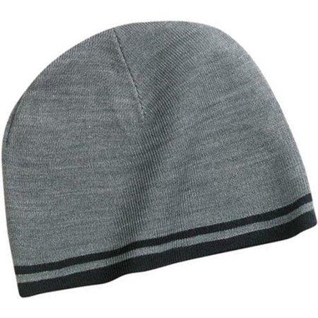 NEW Port and Company - Fine Knit Skull (Company Knit Skull Cap)