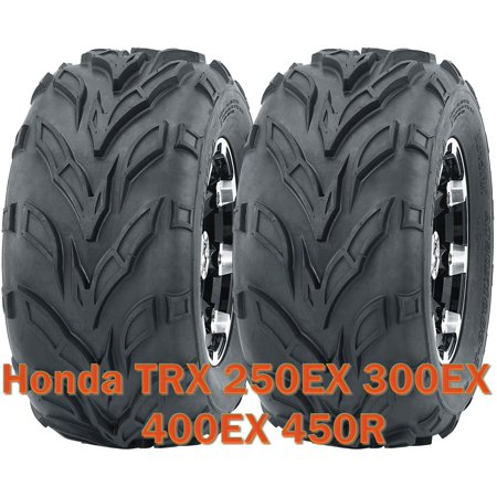 (Honda TRX 250EX 300EX 400EX 450R ATV front tires set 22x7-10 22x7x10)