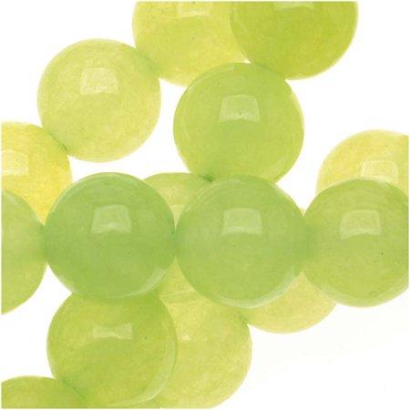 - Olive Green Serpentine Gem Round Beads 6mm - 15 Inch Strand