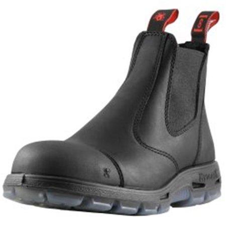 Redback Boots RDBUSBBKSC10 Easy Escape 6 in. Slip-On Steel Toe Scuff Cap, Size 10 UK - 11US