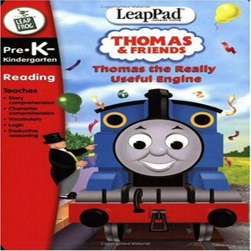 LeapFrog LeapPad Educational Game: Thomas the Really ...