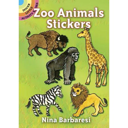 Caillou Zoo Animals (Zoo Animals Stickers)