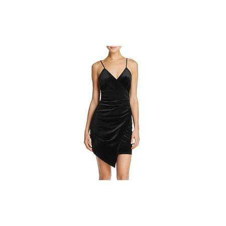Sunset & Spring Womens Velvet Party Clubwear - Sunset Dress