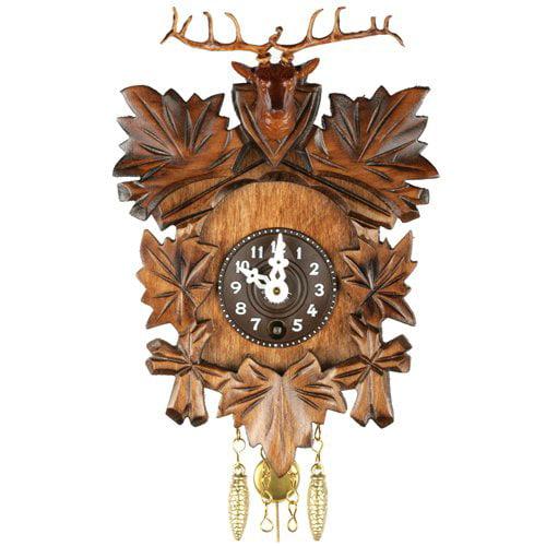 Deer Head Key Wound Cuckoo Clock by Alexander Taron