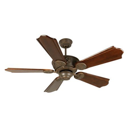 Craftmade Chaparral 56 In  Indoor Outdoor Ceiling Fan With Arched Blades