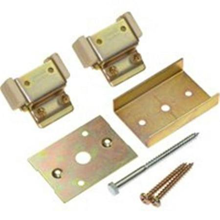 Johnson Hardware 2050PLBG Heavy-Duty Converging Door Kit, For 2000, 2060 Series Pocket Door