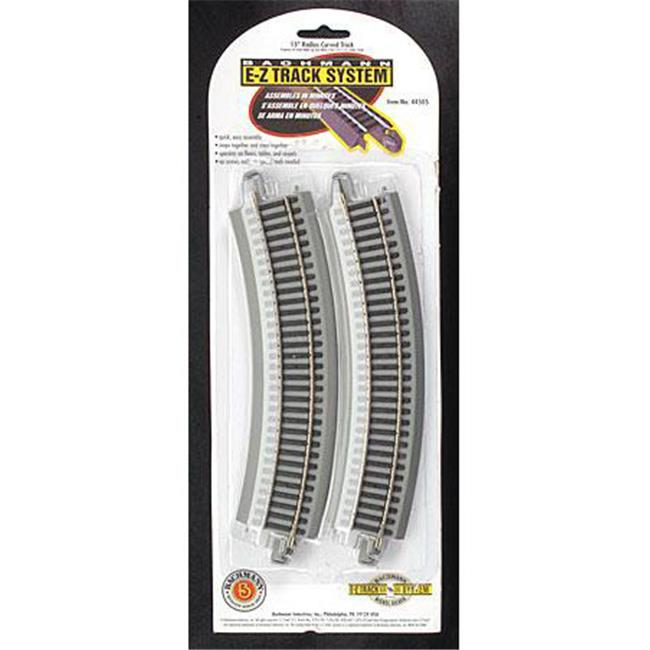 15 in. Radius Curved Track - 4 per Card- 44505