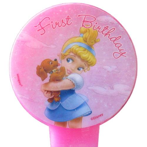 Disney Princess Baby 1st Birthday Cake Candle (1ct)