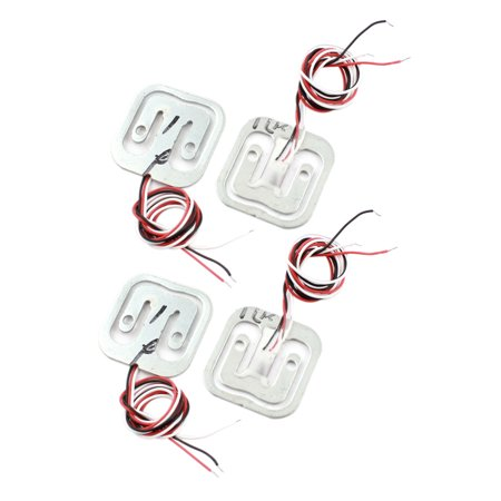 4Pcs 4x5Kg 3-Wire Half Bridge Scale Electronic Weighing Resistance Train Sensor