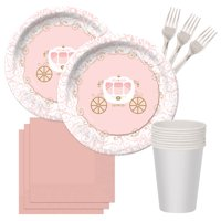 Pink Provincial Princess Birthday Dessert Pack for 8