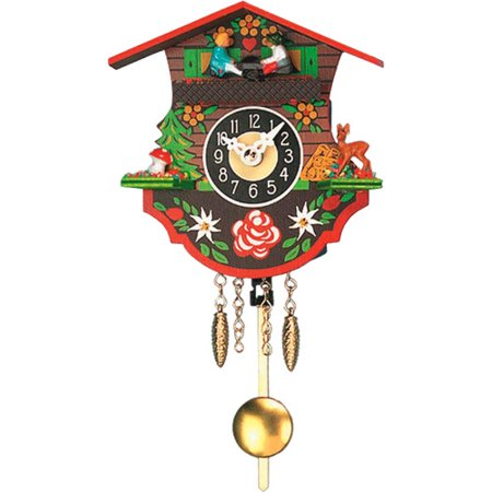Alexander Taron Engstler Battery Operated Wall Clock with Music/Chimes