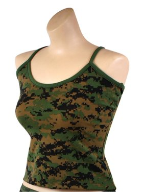 90680dc8d304d Product Image Womens Digital Camo Sexy Tank Top, Camisole