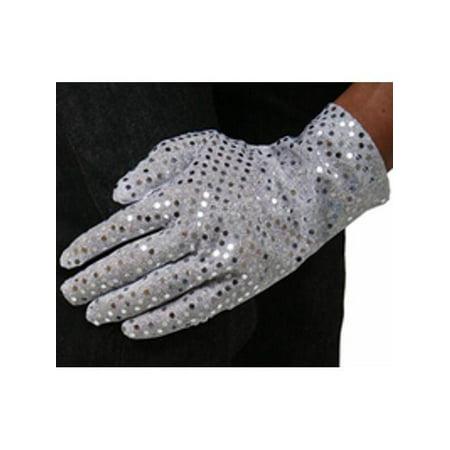 Sequin Gloves (Adult Sequin Costume Glove)