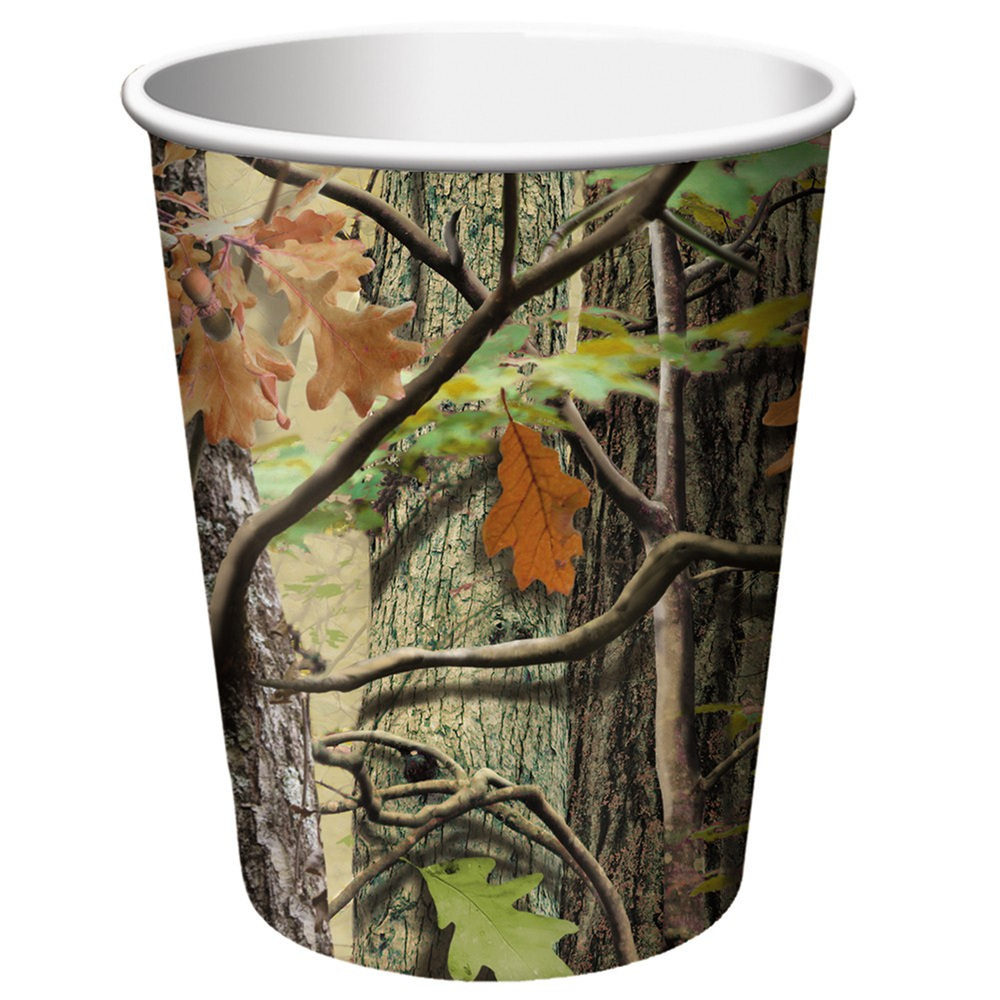 Hunting Camo 9 oz Hot/Cold Cups/Case of 96