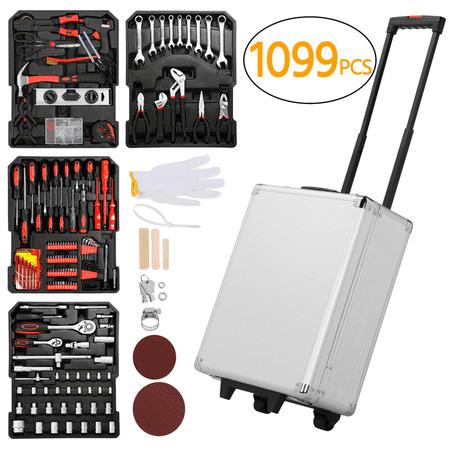 1099 Rolling Tool Box Mechanic Craftsman Tool Set Kit Organizer with Wheels Tool