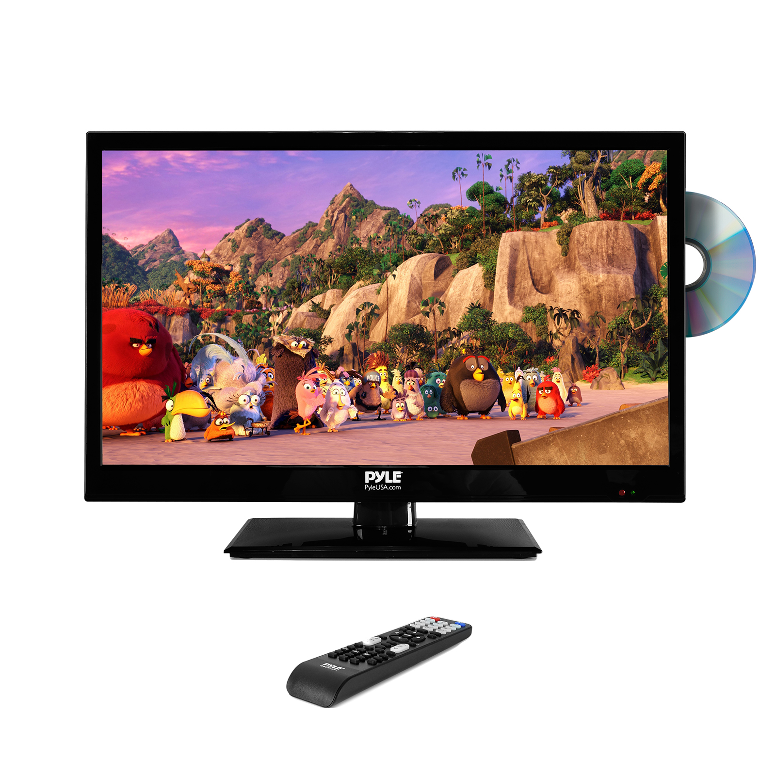 "23.6"" HD LED TV - 1080p HDTV with Built-in CD/DVD Player"