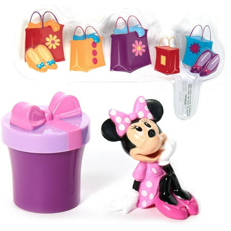 Disney Minnie Mouse Shopping Cake Topper Walmart Com