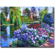 "Trademark Art ""Promise Of Spring"" Canvas Wall Art by David Lloyd Glover"