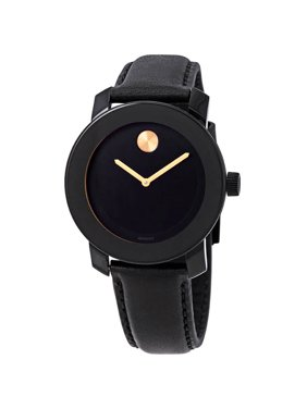 Movado Bold Black Dial Unisex Watch 3600527