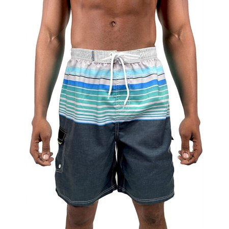 Banana Boat Men's Swim Trunks UPF 50+ Fabric Is Made To Block 99% Of The UVA Rays. Size Runs Small, Order up a Size. (2XL, Aqua 2-Tone 507) - Halloween Contact Lenses Blue Banana