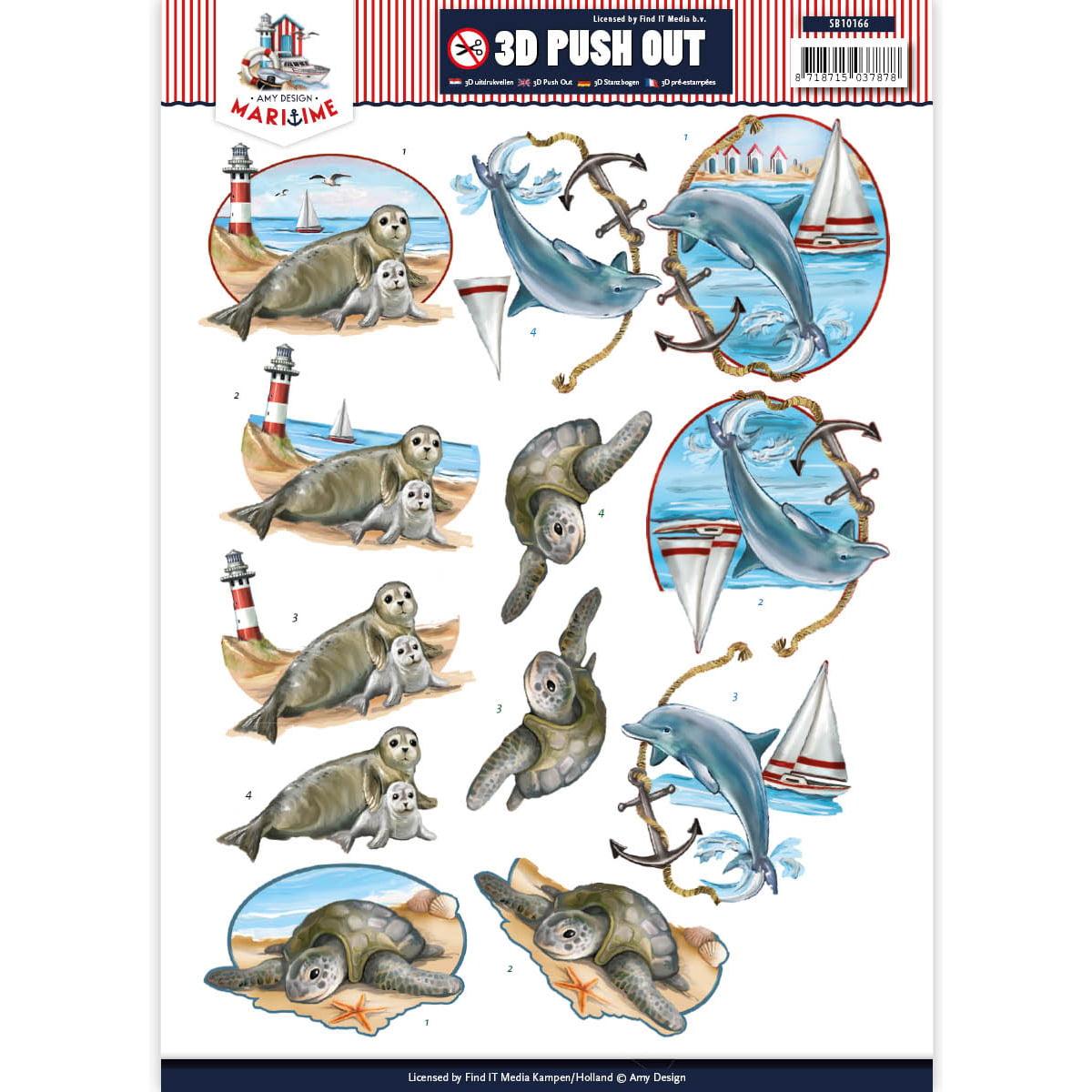 Find It Amy Design Maritime Punchout Sheet-Maritime #1