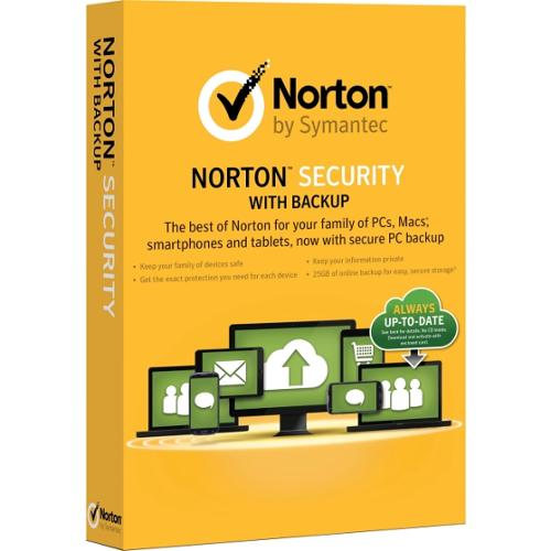 Symantec 21332674 Norton Security 2015 With Backup - 10 Devices
