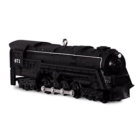 Hallmark LIONEL Trains Engine #22-671 S-2 Turbine Steam Locomotive Keepsake Christmas Ornament