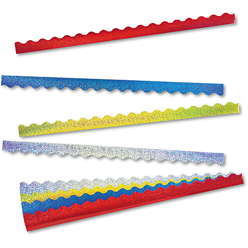 "TREND Terrific Trimmers Sparkle Border Variety Pack, 2-1/4"" x 39' Panels, 40pc"