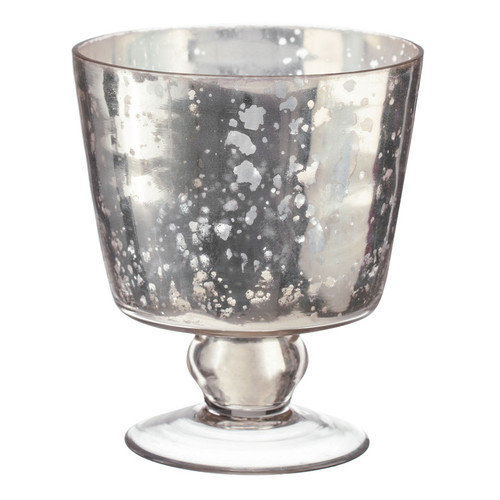 Amber Home Products Champagne Conical Bowl Shaped Votive