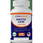 Best Mastic Gums - Vitamatic Mastic Gum 1000mg per Serving 120 Capsules Review