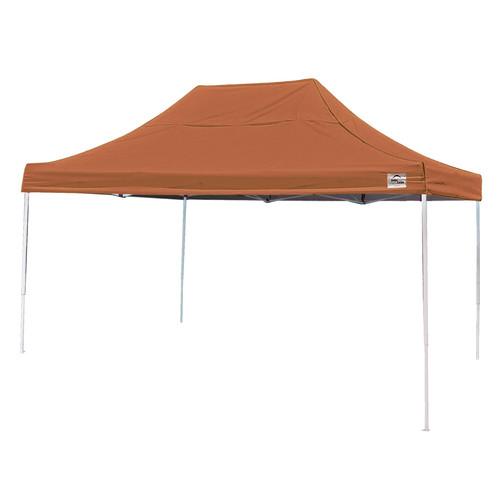 10' x 15' Pro Pop-up Canopy Straight Leg, Terracotta Cover