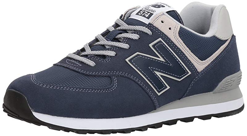 New Balance Mens 574v2 Evergreen Lifestyle Sneaker Black ...
