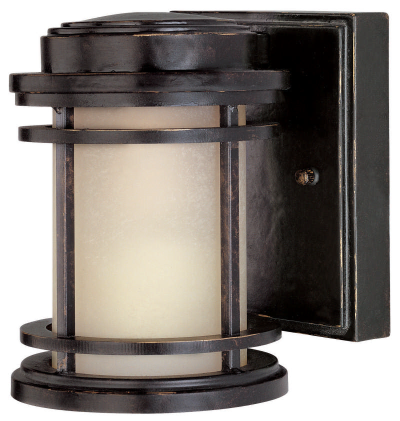 Dolan Designs 9201 Energy Star Rated Craftsman / Mission Outdoor Wall Sconce from the La Mirage Collection