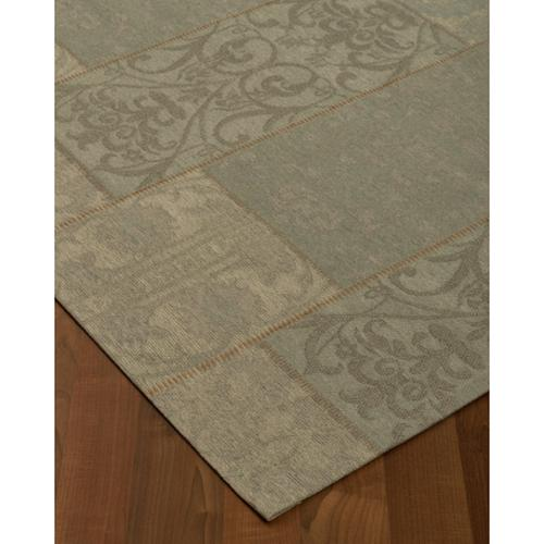 "Natural Area Rugs  Blue Moon Patchwork Rug (5' x 8"") with Bonus Rug Pad"
