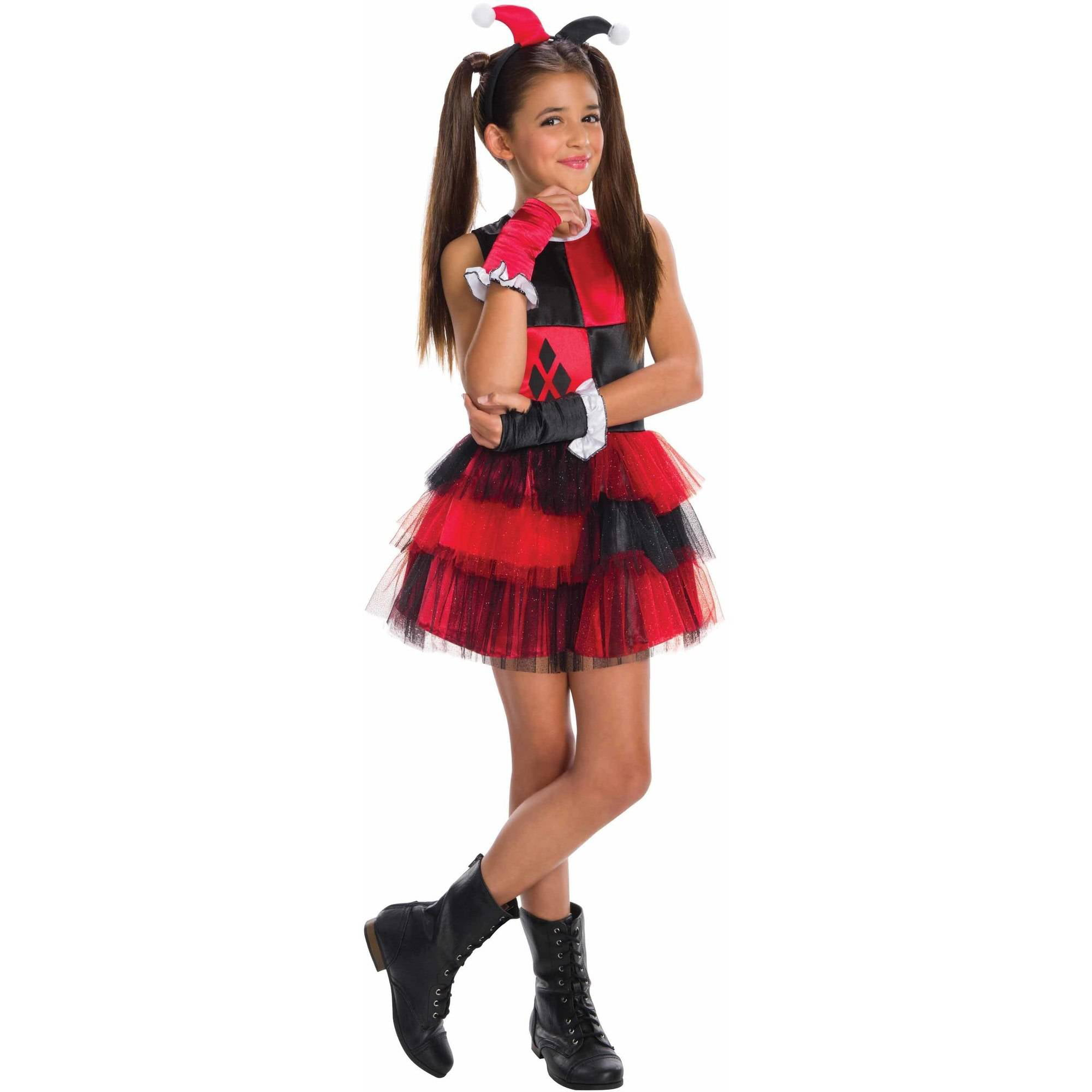 Harley Quinn Child's Costume, Medium (8-10) by Generic