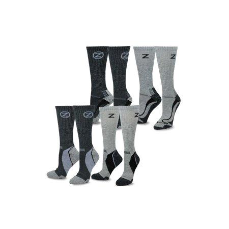 TeeHee Viscose from Bamboo Hiker Crew 4-Pair Socks (Thorlo Coolmax Light Hiker Socks)
