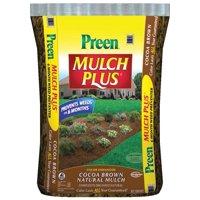 MULCH PREEN BROWN 2 CUBIC FEET