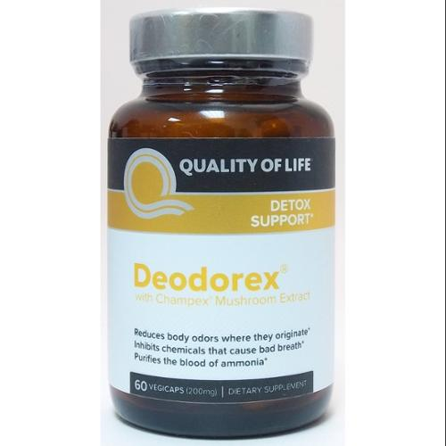 Deodorex Quality of Life Labs 60 VCaps