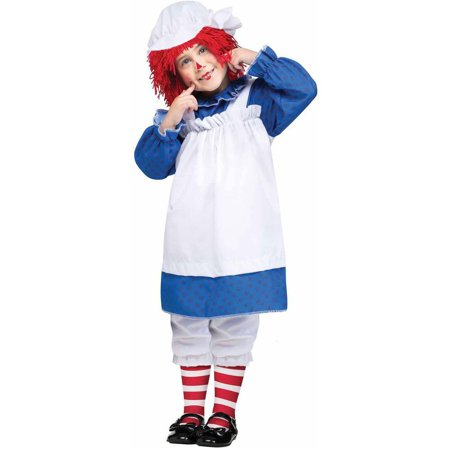 Raggedy Ann and Andy Ann Girls' Toddler Halloween Costume](Raggedy Ann Toddler Halloween Costume)