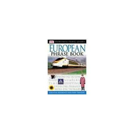 Dk Eyewitness Travel European Phrase Book