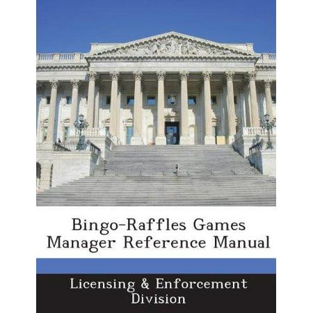 Bingo-Raffles Games Manager Reference Manual - image 1 of 1