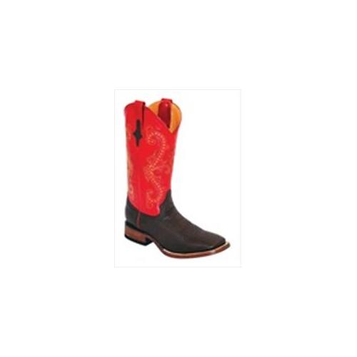 Ferrini 1029307115D Mens Smooth Ostrich Square-Toe Kango Boots 11. 5D by