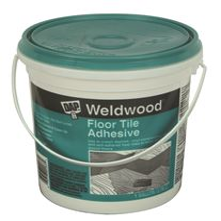 Dap Weldwood Floor Tile Adhesive Clear Gallon Walmart Com