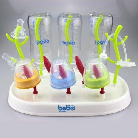 Baby Bottle Dryer Rack Kitchen Clean Drying Shelf Rack Shelf Feeding Holder 1pc - image 1 de 5
